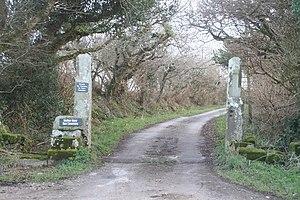 Merthen Manor - Entrance to Merthen Manor