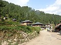 Traditional woden structure houses in Barot area , Mandi ,Himachal Pardesh 03.jpg