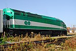 Trainspotting GO train -918 headed by MPI MP40PH-3C -609 (8123460972).jpg
