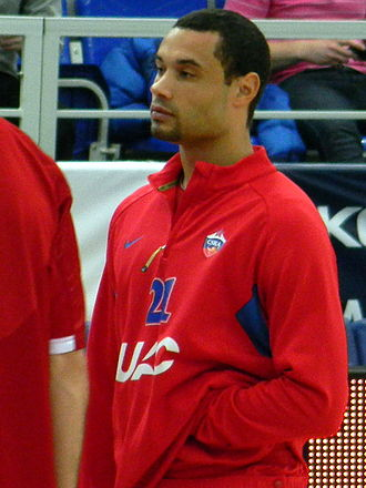 Trajan Langdon - Langdon with CSKA Moscow, in March 2011.