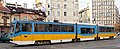 Tram in Sofia mear Macedonia place 2012 PD 017.jpg