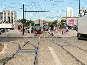 ligne 1 du tramway de dijon wikip dia. Black Bedroom Furniture Sets. Home Design Ideas