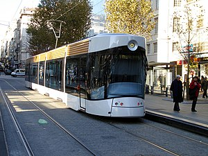 Marseille tramway - Image: Tramway de Marseille Ligne 2 Belsunce Alcazar 04