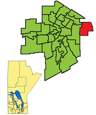 Transcona (electoral district) - Image: Transcona ED2011