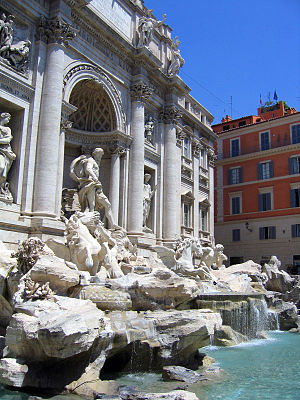 Nicola Salvi -  The Trevi Fountain (N. Salvi)