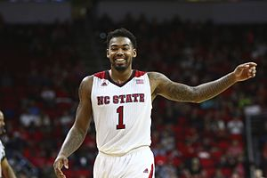 Trevor Lacey - Lacey with NC State in 2015