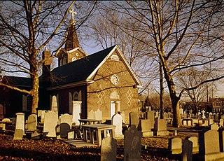 Old Trinity Church Church in Philadelphia, Pennsylvania