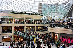 Leeds city centre - Trinity Leeds opening day