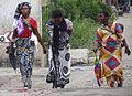 Trio of Women in Street - Bagamoyo - Tanzania.jpg