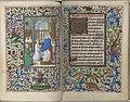 Trivulzio book of hours - KW SMC 1 - folios 086v (left) and 087r (right).jpg