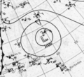 Tropical Storm Nine analysis 25 Oct 1923.png