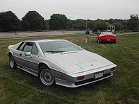 A Lotus Esprit capable of turning into a submarine is featured in the film