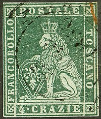 4 crazie stamp from 1851 Tuscany6.jpg