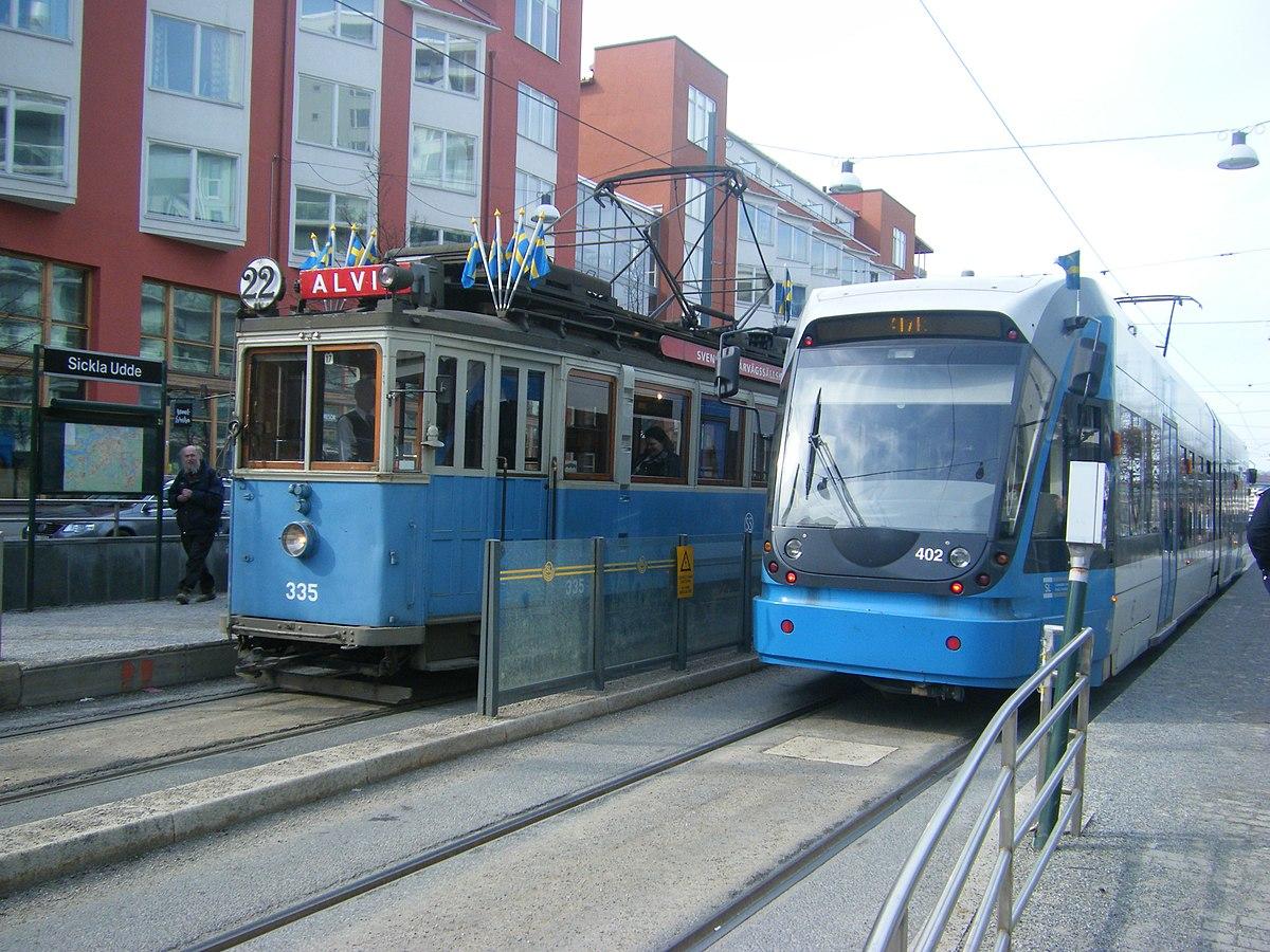 Trams in Stockholm - Wikipedia