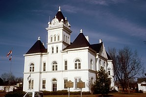 Twiggs County Courthouse, gelistet im NRHP Nr. 80001248[1]