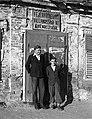 Two men, 1946 Hungary. Fortepan 72991.jpg