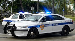 Honolulu Police Cars
