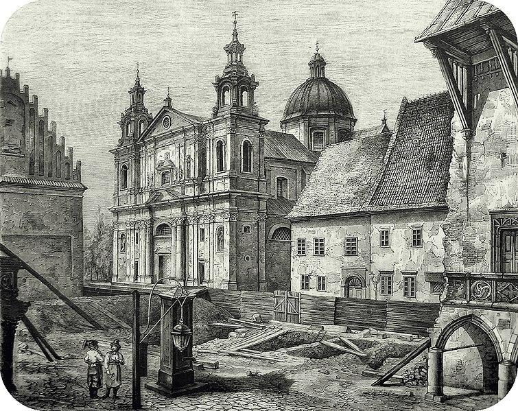 File:Tygodnik Ilustrowany, Kraków, kościół św. Anny.jpg