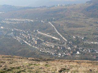 Tylorstown Human settlement in Wales