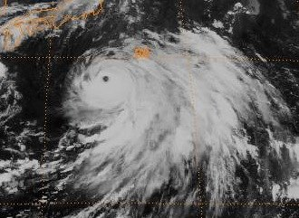 1998 Pacific typhoon season - Image: Typhoon Rex 1998