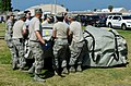 U.S. Airmen assigned to the Missouri and California National Guard's Homeland Response Force (HRF) lift a medical tent during an emergency response training exercise at Naval Amphibious Base Coronado, Calif 130524-Z-UP142-126.jpg
