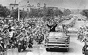 U.S. President Eisenhower visited TAIWAN 美國總統艾森豪於1960年6月訪問臺灣台北時與蔣中正總統-2