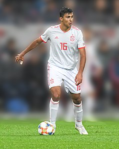 UEFA EURO qualifiers Sweden vs Spain 20191015 Rodri.jpg