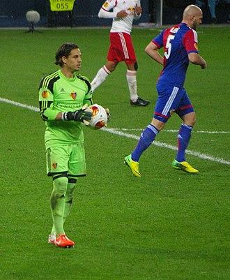 Yann Sommer - Sommer in a Europa League match against Salzburg in March 2014