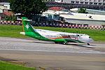 UNI Air ATR 72-600 B-17015 Taking off from Taipei Songshan Airport 20150908a.jpg