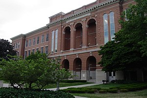 Cedar Falls, Iowa - University of Northern Iowa's Lang Hall