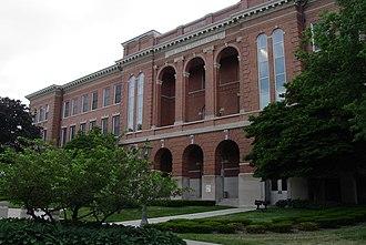 Cedar Falls, Iowa - University of Northern Iowa's Lang Hall