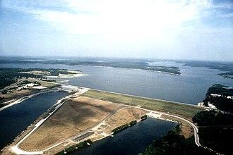 Hickory County, Missouri - Image: USACE Harry S Truman Dam Missouri
