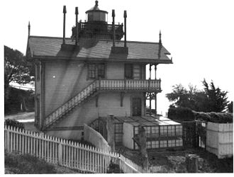 Mare Island Light - View of the light from the north side