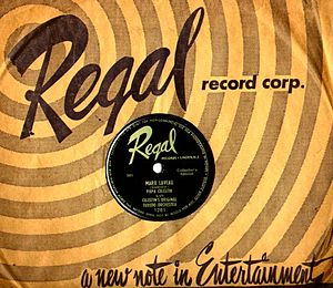 Regal Records (1949) - Fourth USA Regal Records, c. 1950