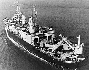 USS Albemarle (AV-5) off Norfolk 1943.jpg