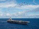 USS Carl Vinson (CVN-70) underway in the Pacific Ocean on 4 August 2018 (180804-N-GD109-0349).JPG