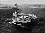 USS Coral Sea (CVA-43) leaves Pearl Harbor in January 1965.jpg