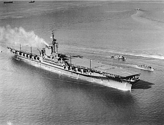 USS Midway (CV-41) - Midway after commissioning in September 1945