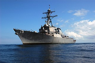 USS <i>Porter</i> (DDG-78) Arleigh Burke-class destroyer