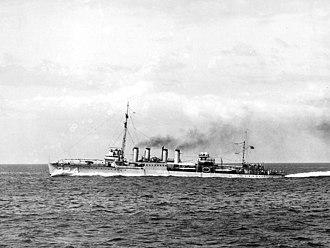USS Stewart (DD-224) - USS Stewart (DD-224) underway c1930s
