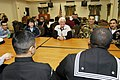 US Navy 041219-N-5821W-002 Congressman Jerry Lewis (R-Calif.), speaks with Sailors from California assigned to Naval Air Station Sigonella during a round table discussion.jpg