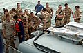 US Navy 070328-N-6794Z-011 British Royal Marines wait aboard Iraqi Navy Ship P 101 in the Persian Gulf.jpg