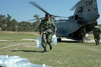 Bangladesh Army - Humanitarian operation after Cyclone Sidr 2.