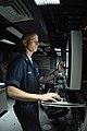 US Navy 080805-N-4995K-095 Sonar Technician (Surface) 1st Class Thomas Adams monitors the sonar display.jpg