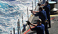 US Navy 090128-N-4774B-032 Sailors fire the Beretta M9 9mm pistol during live-fire training.jpg