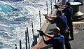 US Navy 090128-N-4774B-032 Sailors fire the Beretta M9 9mm pistol during live-fire training.jpg