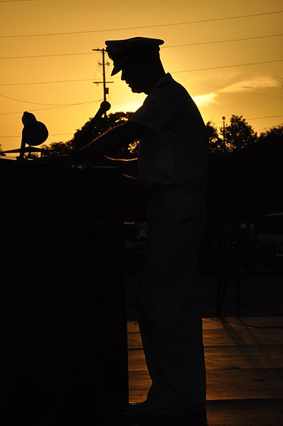 File:US Navy 100612-N-2030S-013 Capt. Steven Blaisdell, commanding officer of Naval Station Guantanamo Bay, Cuba, speaks at the 112th Philippine Independence Day Celebration.jpg