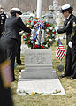 US Navy 110402-N-3392P-010 NOSC Avoca honored Walsh by hosting a rededication and wreath laying ceremony.jpg