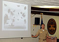 US Navy http-www.navy.mil-management-photodb-photos-100604-N-8288P-009 Lt. Cmdr. Kenneth Klima, assigned to U.S. 6th Fleet Headquarters, Naples, presents the highlights of the Battle of Midway during a 68th anniversary event.jpg