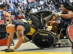 US beats Australia in wheelchair rugby semi-finals, 2016 Invictus Games 160511-F-WU507-065.jpg
